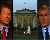 Gore, Bush, Whitehouse Photo