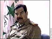 Saddam Hussein said Iraq may gave aid