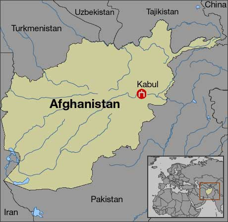 World Map Of Kabul Afghanistan. The Taliban took over Afghanistan s biggest city  Kabul CNNfyi com Taleban to mark Afghan Hindus May 22 2001