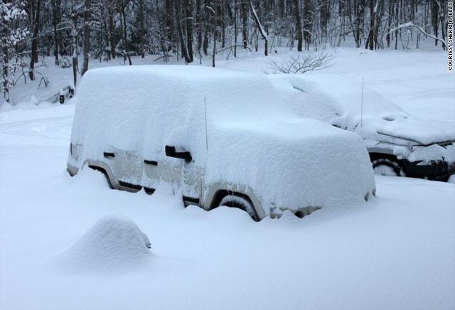 Snow Totals Long Island