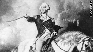 Was President Washington on his way to return his library books  when more urgent matters came up?