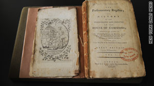 """The New York Society Library has other volumes of """"Common  Debates"""" but is missing Volume 12."""