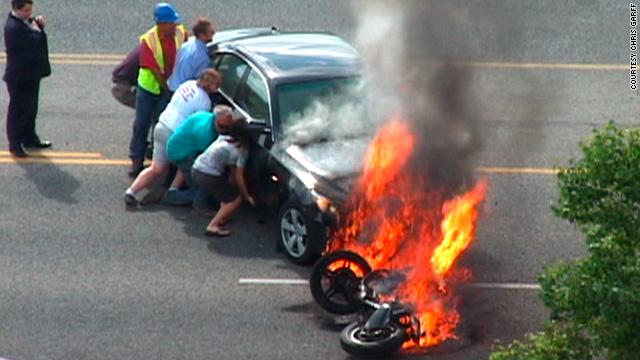 Car Crash Logan Utah