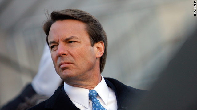 Overheard on CNN.com: John Edwards falls far