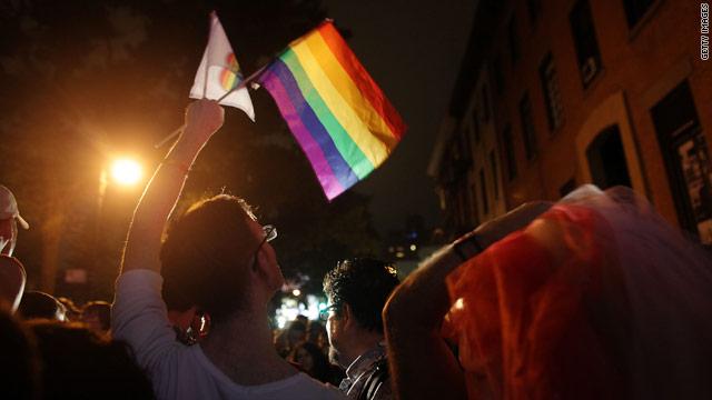 Connecticut legalizes same sex marriage