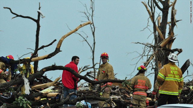 Lightning, Gas Leaks, Hail Don't Stop First Responders In