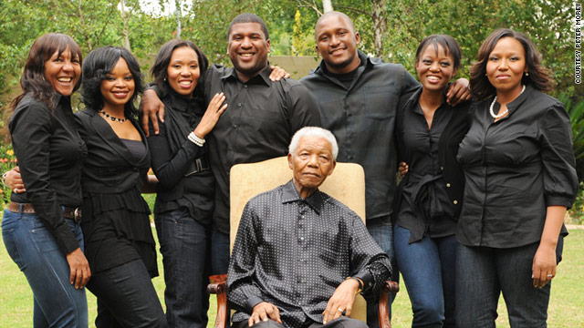 Image result for Mandela and his family