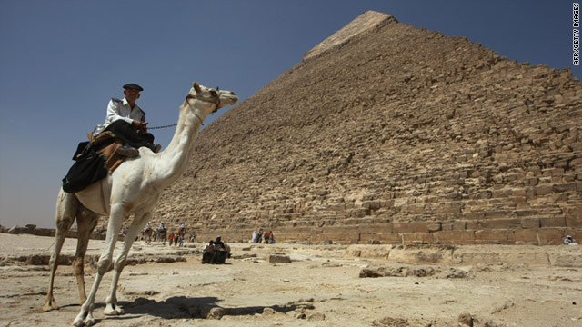 Mysterious markings discovered at Great Pyramid of Giza