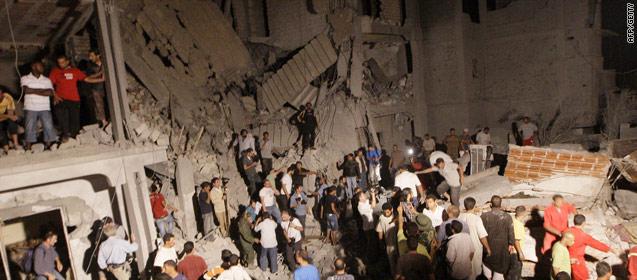 La OTAN niega la muerte de 15 civiles en un ataque fallido en Trípoli