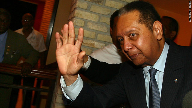 Baby Doc Duvalier Returns To Haiti In Surprise Move