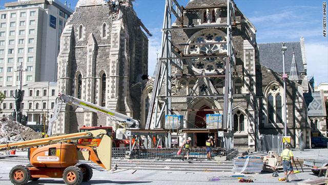 Dual quakes rock Christchurch, New Zealand - CNN.com