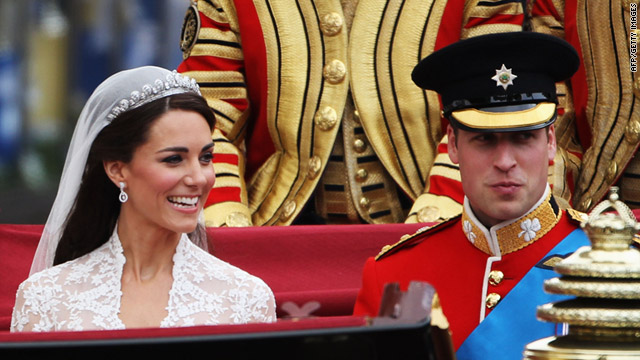 William And Catherine Marry In Royal Wedding At