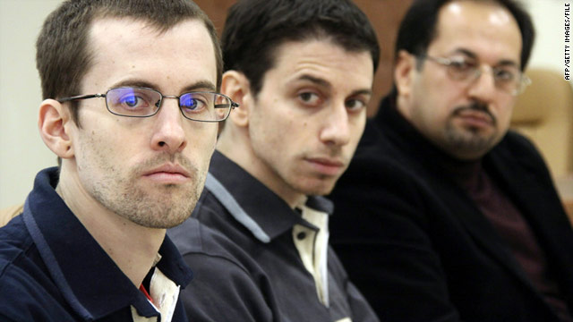 Iran sentences U.S. hikers to eight years in prison