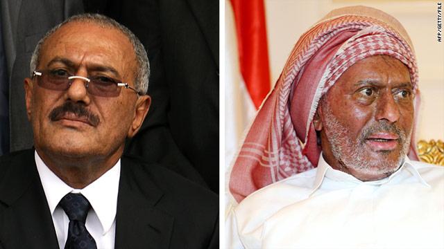 El presidente de Yemen Ali Abdullah Saleh vuelve a casa