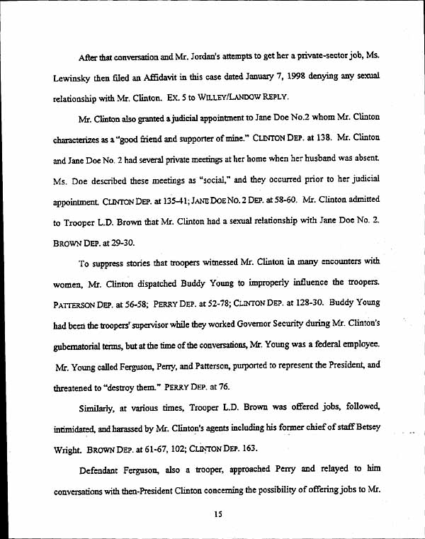 legal documents plaintiff s opposition to defendant clinton s  legal documents plaintiff s opposition to defendant clinton s motion for summary judgment