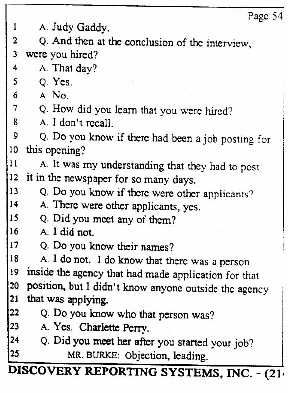 Legal Documents The Gennifer Flowers Deposition March 16 1998