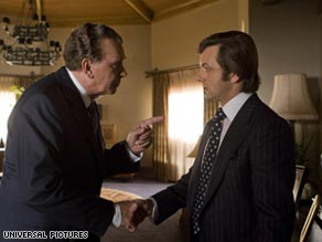 Is 'Frost/Nixon' the thinking man's 'Rocky?'