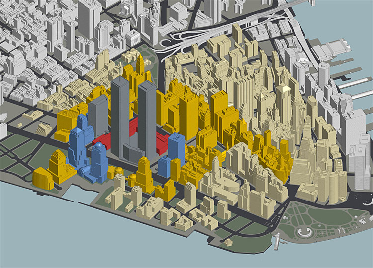 Map Of World Trade Center Before 9 11.Cnn Com In Depth Specials