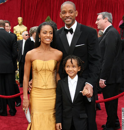 is will smith son dead. Jada Pinkett Smith and son