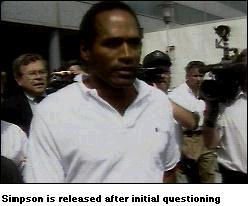CNN O.J. Simpson Trial News: The Arrest Oj Simpson Crime Scene Photos