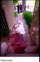 Real Crime Scene Murder http://edition.cnn.com/US/OJ/evidence/blood/index.html
