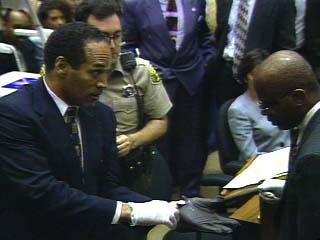 Oj Simpson Wearing Gloves CNN O.J. Simpson Trial...