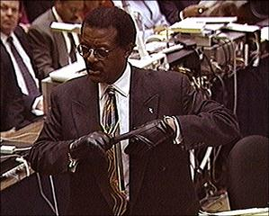 Oj Simpson Wearing Gloves CNN - Simpson trial si...
