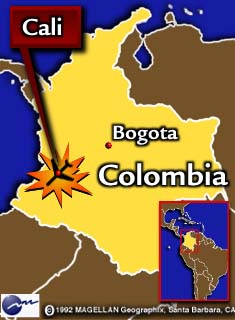 Cnn at least four of 164 passengers survive dec 22 1995 colombia map the boeing 757 was to arrive in cali at 945 pm and lost radio contact five minutes before its scheduled arrival publicscrutiny Image collections
