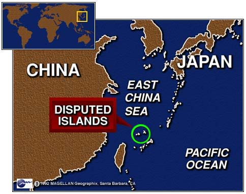 senkaku island dispute