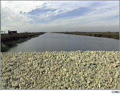 Egypt launches controversial Peace Canal project canal [1997]