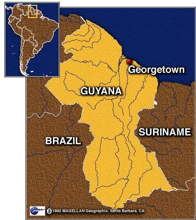 CNN Guyanese President Cheddi Jagan Dies Mar - Where is guyana