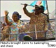 mobutu sese soko essay Zaire: an african horror story observers search for a suitable analogy—the next bosnia, another somalia—to the shaky, predatory despotism of mobutu sese seko.