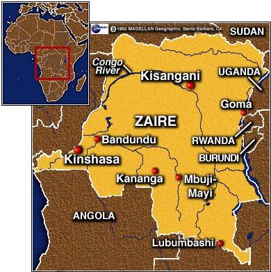 RDC le patron de lONU dans le pays sest rendu à Kananga