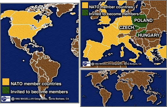 Cnn nato and russia reach partnership pact may 14 1997 map of countries expected to be invited into nato gumiabroncs Choice Image
