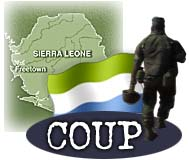 CNN - Armed men stage coup attempt in Sierra Leone - May 25, 1997