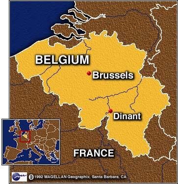 cnn - belgian bathtub race a tourney with few rules - august 16, 1997