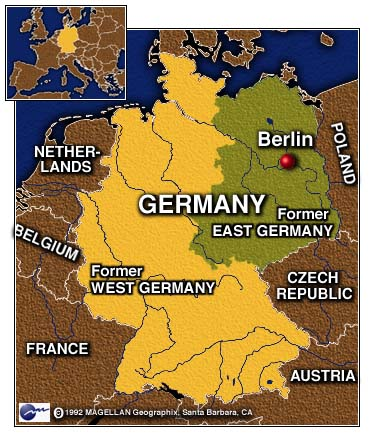 east german unification