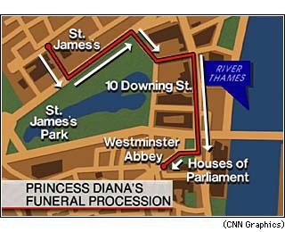 Cnn Preliminary Funeral Schedule September 2 1997