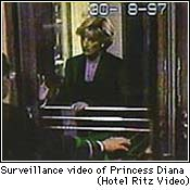 Princess Di at Ritz
