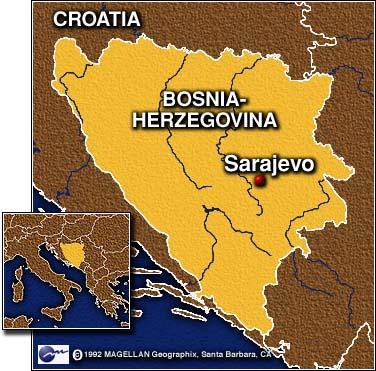 CNN U Concert Brings Hope To Sarajevo September - Where is sarajevo