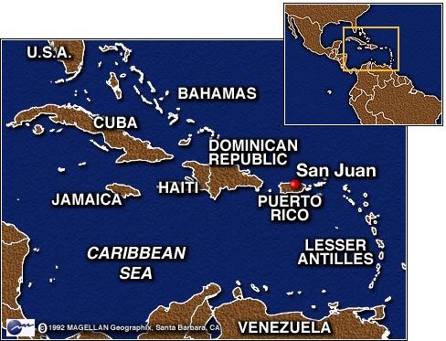 San Juan Puerto Rico On World Map.Cnn Puerto Rican Authorities Probe Alleged Castro Murder Plot