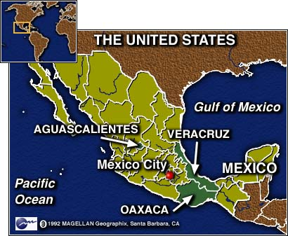 CNN - Voters in 3 Mexican states pick governors Sunday - August 1, 1998