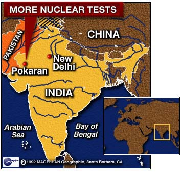 CNN US Imposes Sanctions On India May - India and us on a map