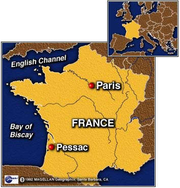 CNN France Mints First Euro Coin May - Where is france located