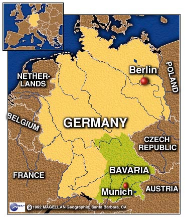 CNN - Germany map bavaria