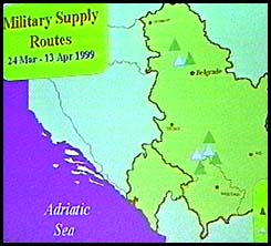 military supply route