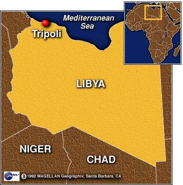 CNN Suspects In Pan Am Bombing Handed Over To UN In Tripoli - Where is tripoli