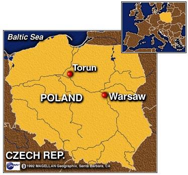 Liste Des Villes Polonaises