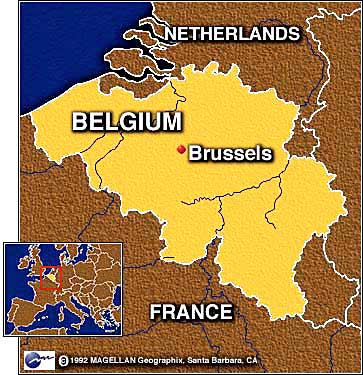 Wheres Brussels - Where is brussels