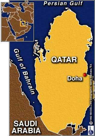map of qatar doha. Conference in Doha, Qatar